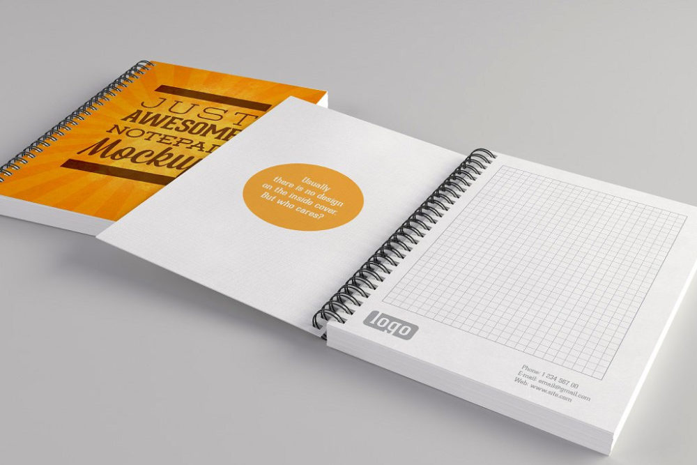 Checkered Notepad | Printing Brooklyn